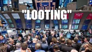 Wall Streeting Looting