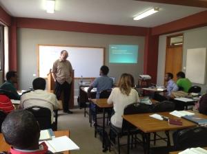Teaching the Gospel of John at ABC.