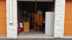 Storage unit where our church items are stored for the time being.