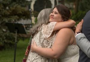 Terri hugging Emma