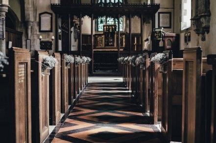 church aisle